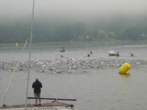 The swim in 2010 (I'm in there somewhere, as I did the relay that year)